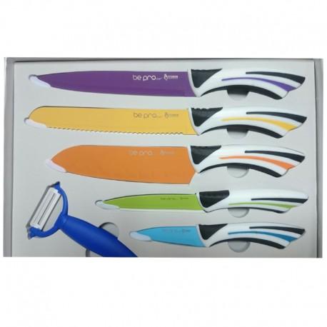 Estuche de Cuchillos de Cocina BE PRO