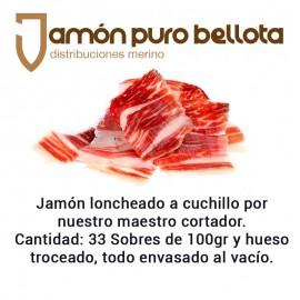 Jamón Sánchez Romero Carvajal 100% Ibérico Puro Bellota