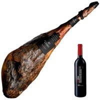 No. 9 lot 10 Vetas Pure 100% Iberian Bellota ham