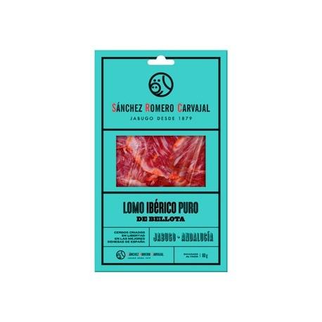 Lomo Ibérico Puro de Bellota Sánchez Romero Carvajal Jabugo Loncheado