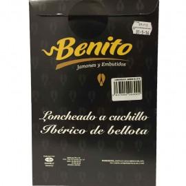JAMON IBERICO DE CEBO DE CAMPO BENITO JABUGO SOBRE DE 100GR