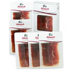 ALTANZA  FIELD-FATTENED 100% IBERIAN BELLOTA SHOULDER - SLICED IN 6x80gr PACKAGES.
