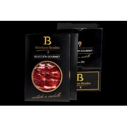 Paleta  De Bellota 100% Ibérica Benito Loncheada Corte Cuchillo Selección Gourmet Pack 20 Sobres De 100Gr