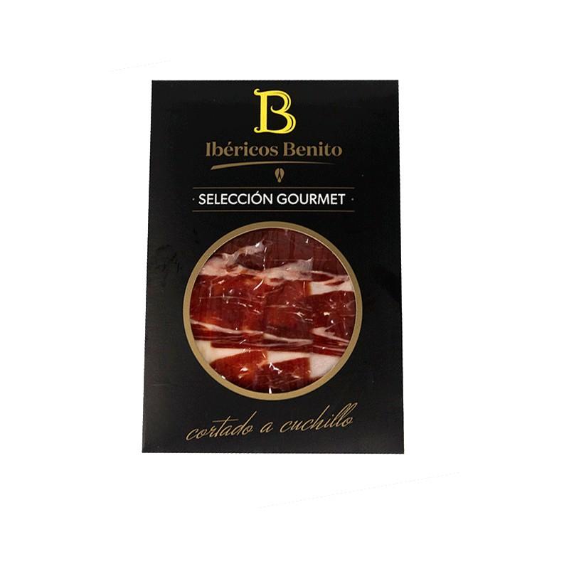 Paleta  De Bellota 100% Ibérica Benito Loncheada Corte Cuchillo En Sobre De 100Gr. Selección Gourmet