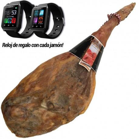 Jamón Bodega Nobleza Castellana Con Regalo Reloj Kusstom K1