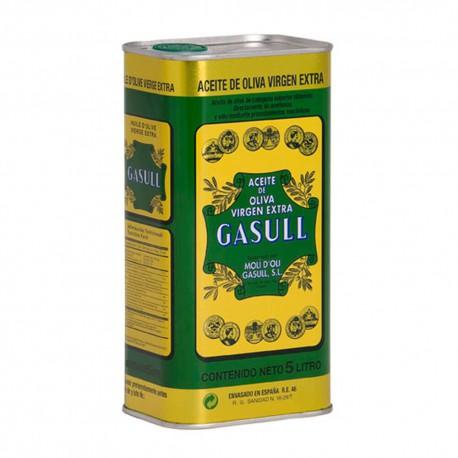 Aceite de  Oliva Virgen Extra Gasull 5 Litros