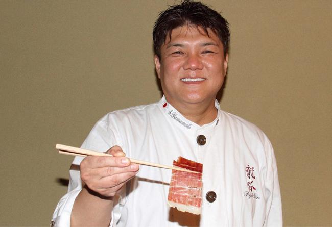El chef Seiji Yamamoto lleva el jamón ibérico a la alta cocina japonesa