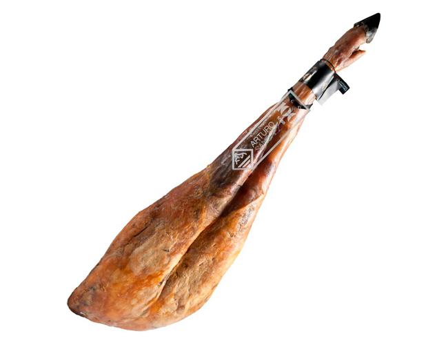 Aprovecha la grasa del jamón ibérico puro de bellota