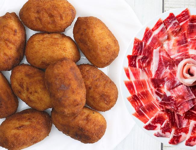 receta croquetas jamón ibérico
